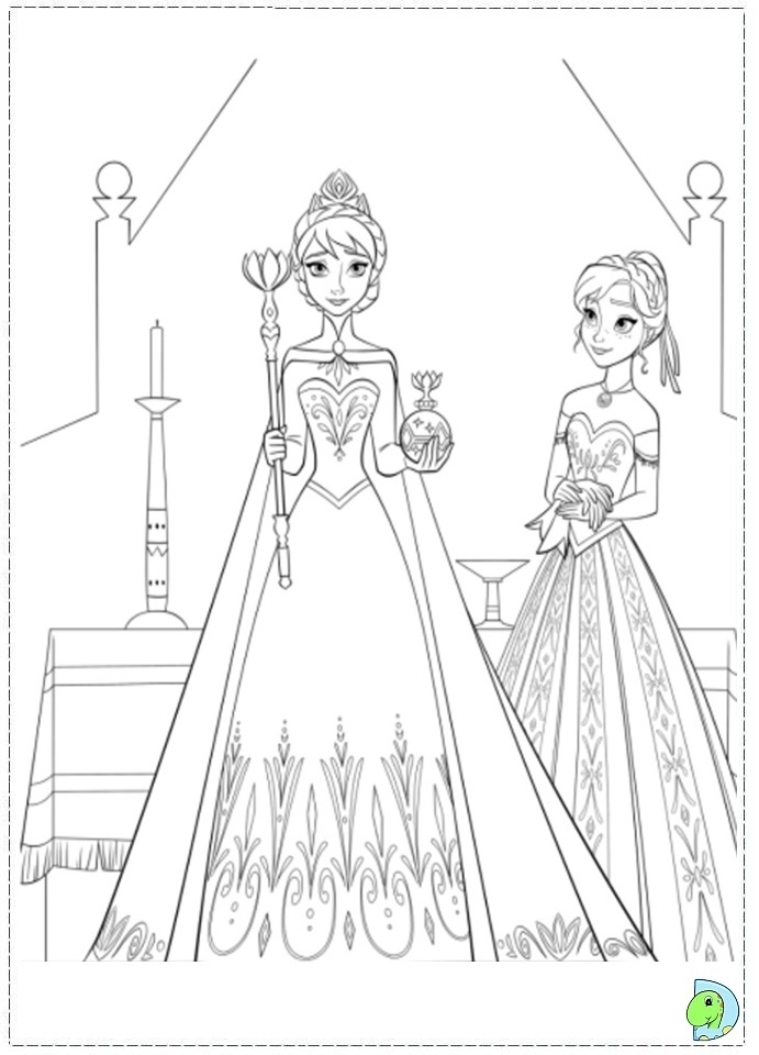 Printable Frozen Coloring Pages Online 387838