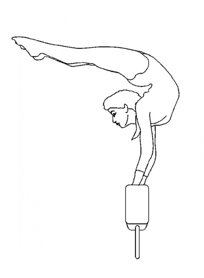 Get This Printable Gymnastics Coloring Pages Online 4auxs !