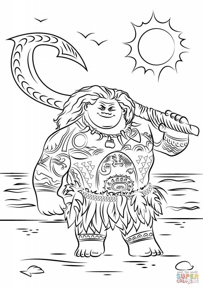 photo regarding Printable Moana known as Receive This Printable Moana Coloring Web pages On the web 818TJ !