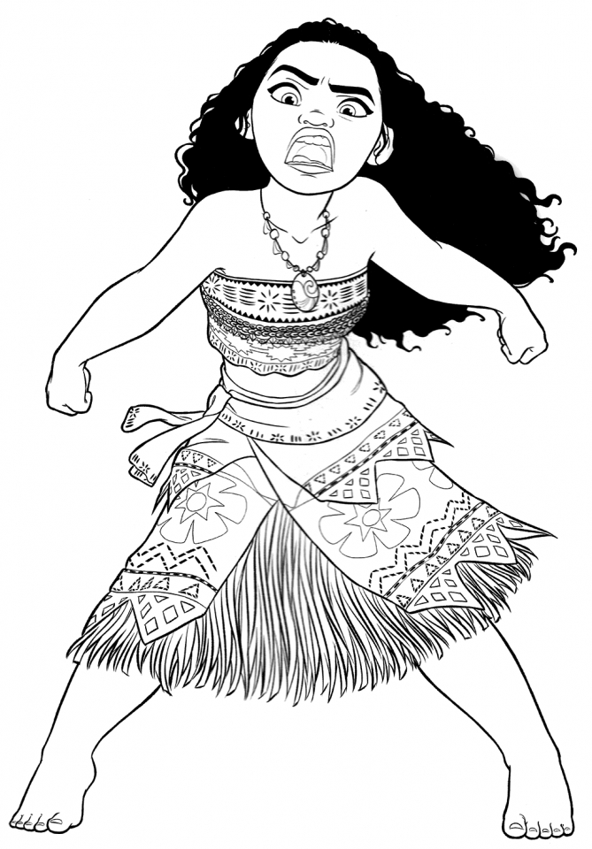 Get This Printable Moana Coloring Pages Online NJ51I !
