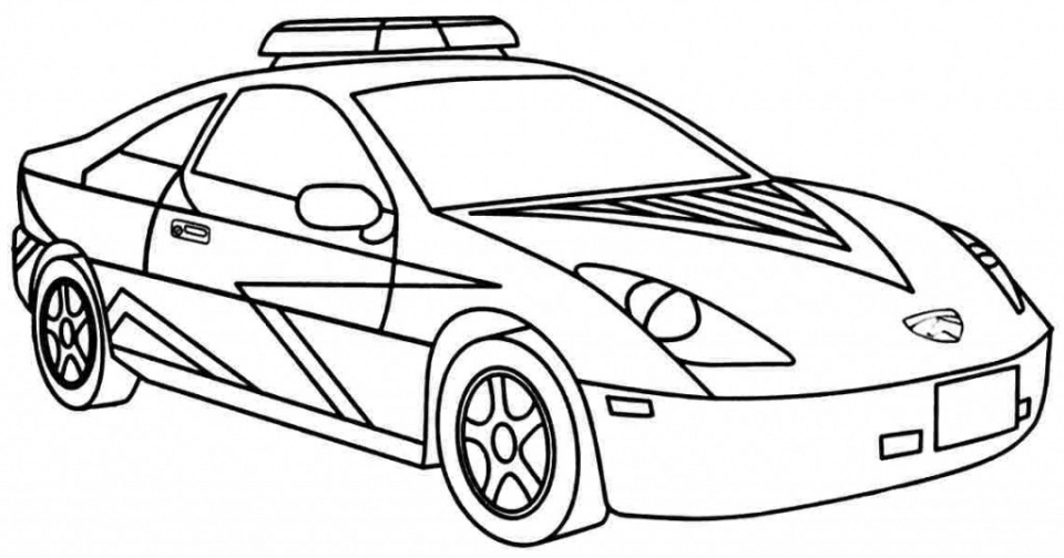 photo about Car Printable called Obtain This Printable Law enforcement Vehicle Coloring Webpages 42472 !