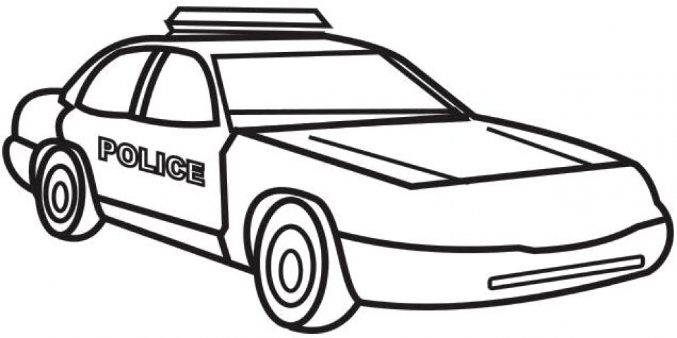 88 Police Car Coloring Pages To Print