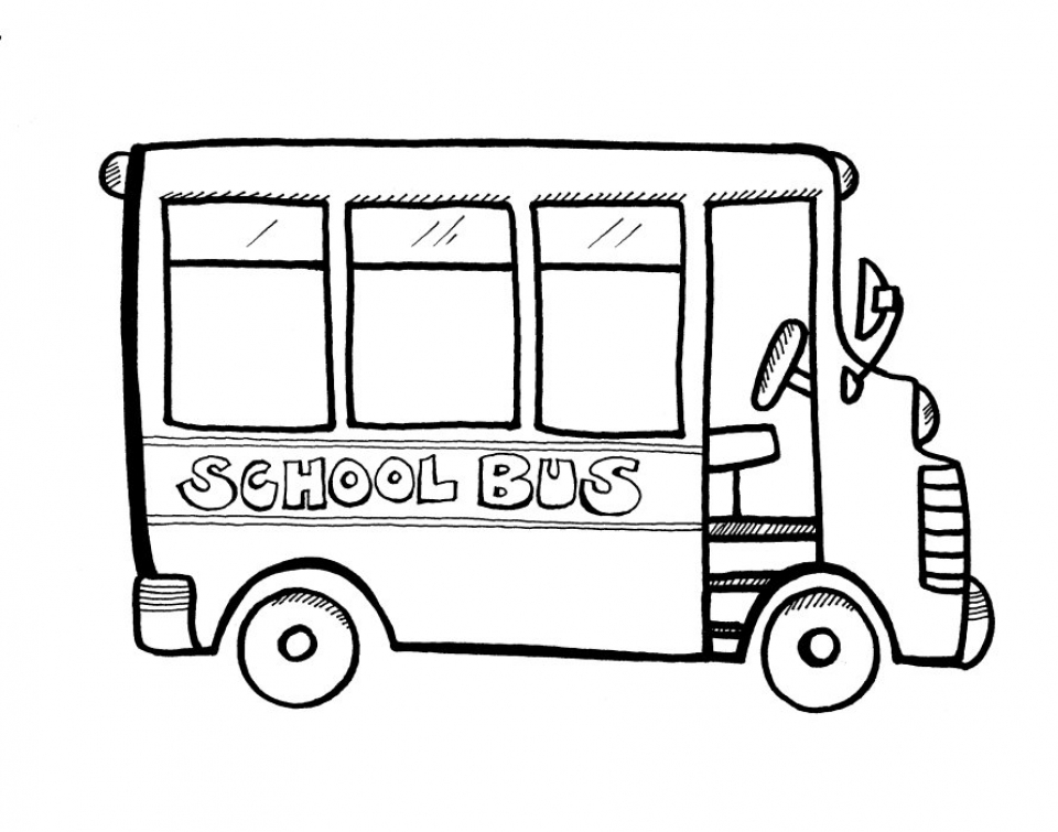 photo relating to School Bus Printable titled Consider This Printable College Bus Coloring Web pages 9wchd !