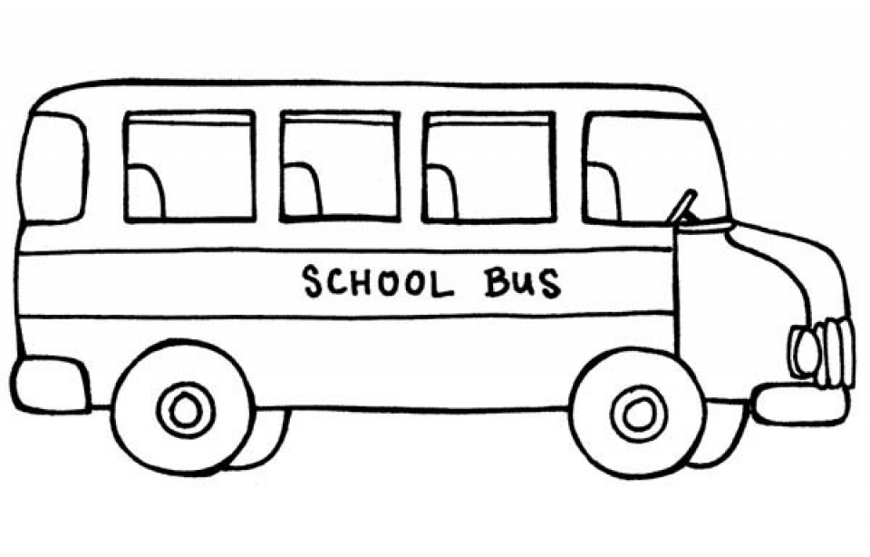 coloring pages bus - photo#8