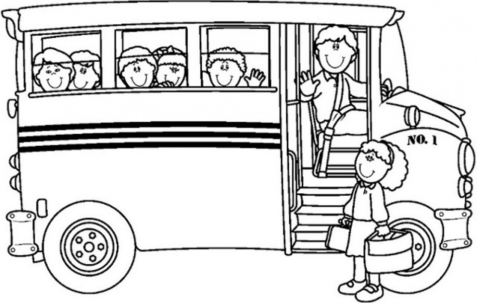 Get This Printable School Bus Coloring Pages Online 4auxs !