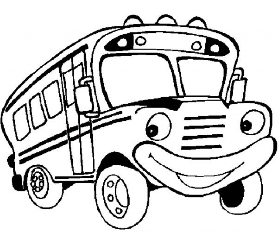 get this printable bus coloring pages yzost