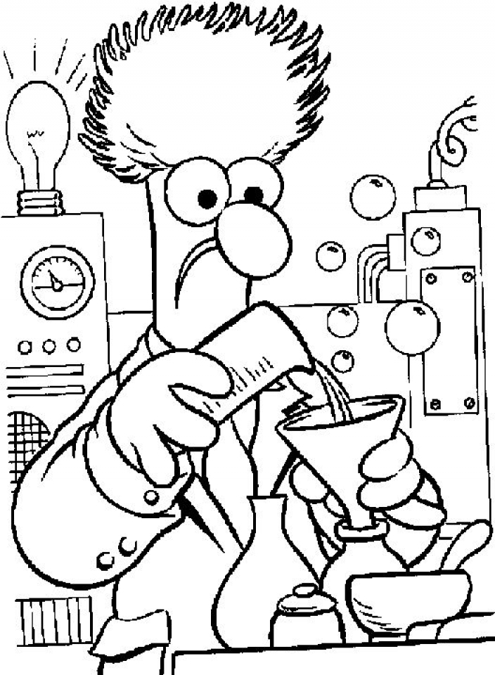 Get This Printable Science Coloring Pages 9wchd