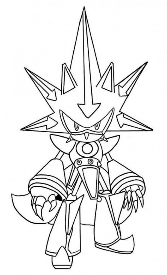 Halloween Sonic Coloring PagesSonicPrintable Coloring Pages Free
