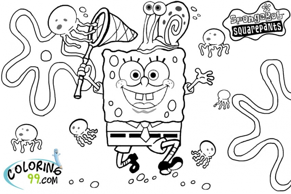 Get This Printable Spongebob Squarepants Coloring Pages ...