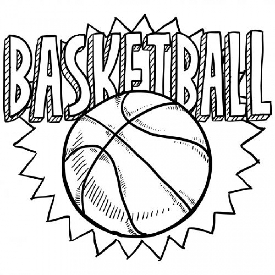 Get This Printable Sports Coloring