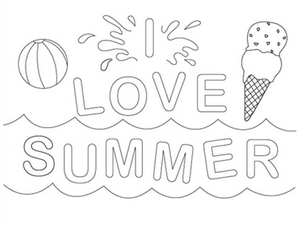 Get this printable summer coloring pages online 781018 for Summer coloring pages to print