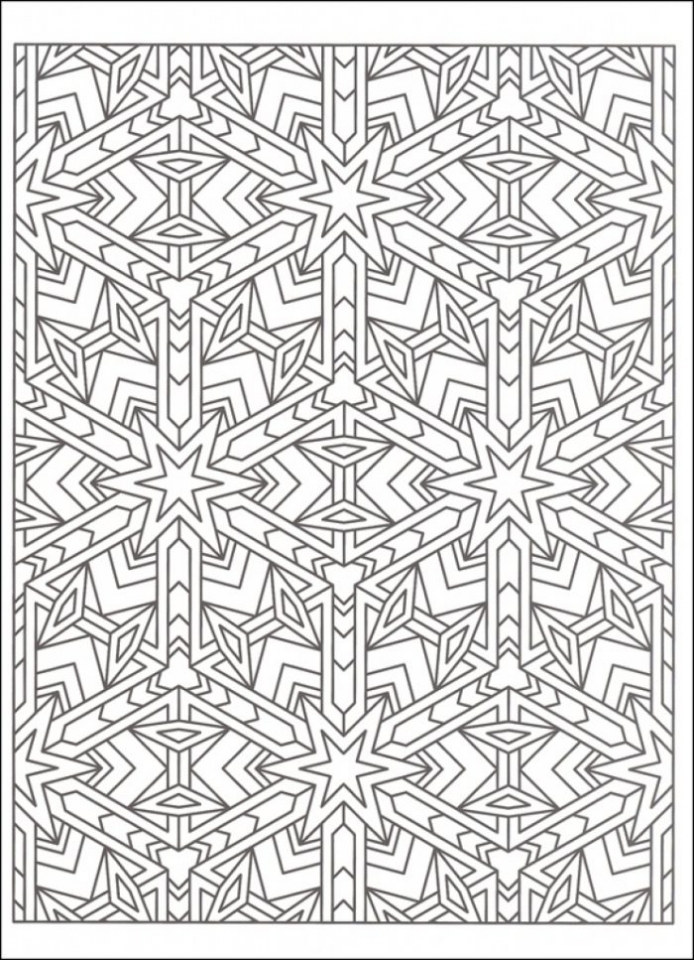 Tessellations Coloring Pages 20 Free Printable Tessellation Coloring Pages  Everfreecoloring