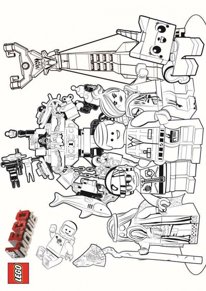 Get This Printable The Lego Movie