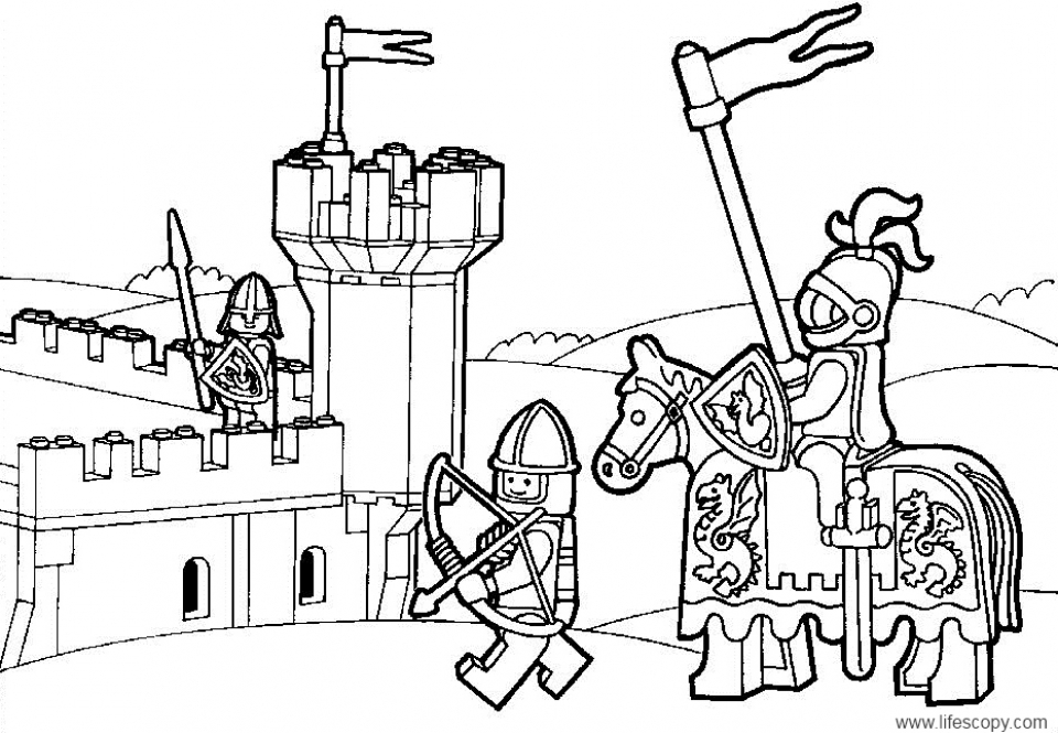 Get This Printable The Lego Movie Coloring Pages 673363