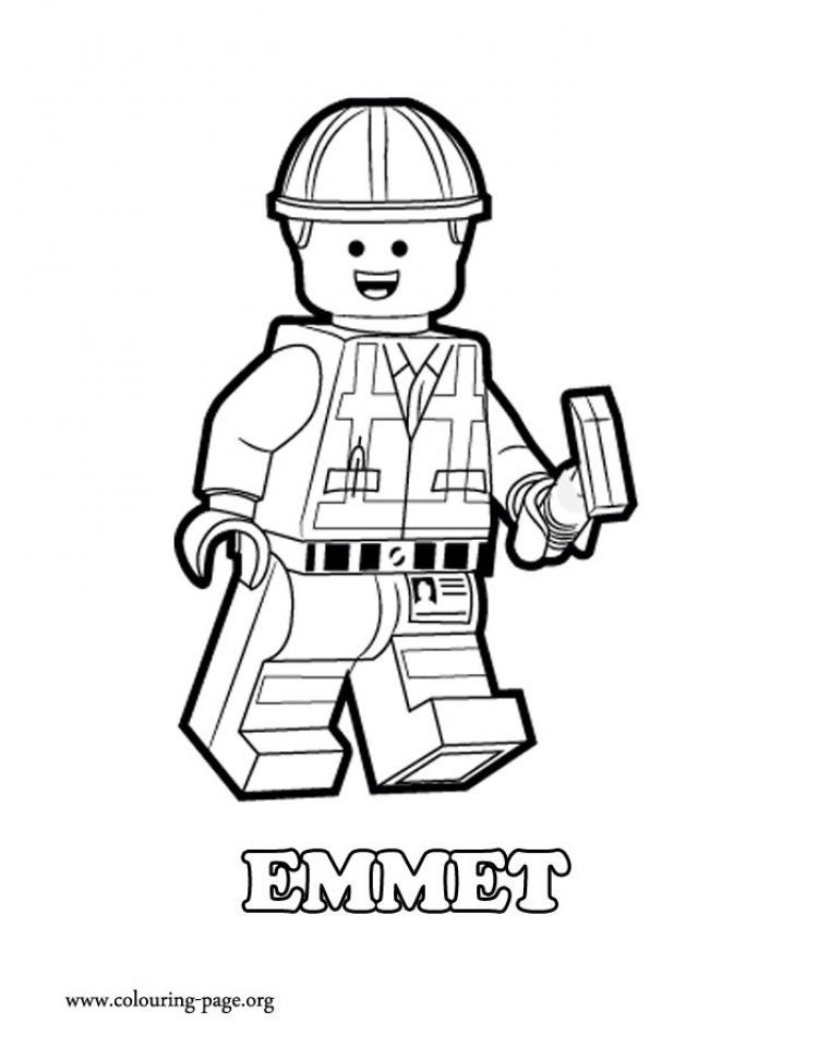 Get This Printable The Lego Movie Coloring Pages Online 638588