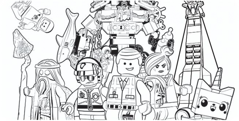 - Get This Printable The Lego Movie Coloring Pages Online 781021 !