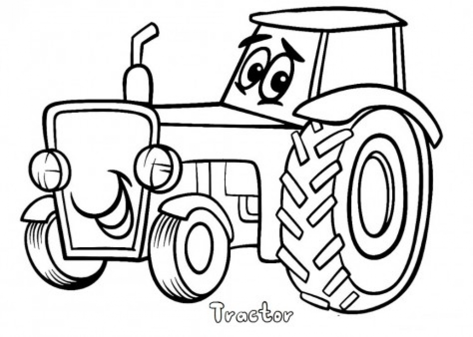 Tractor Coloring Sheets : Get this printable tractor coloring pages