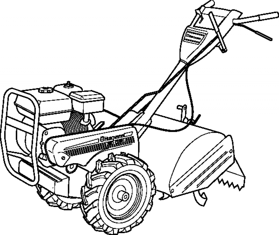 Printable Tractor Coloring Pages Online   89391