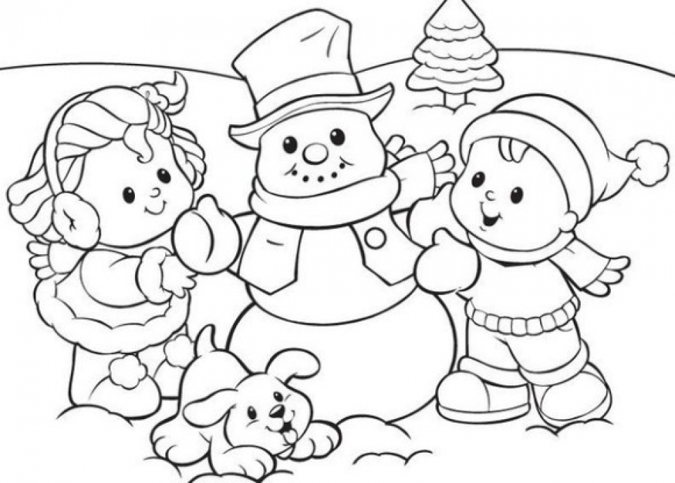 20+ Free Printable Winter Coloring Pages ...