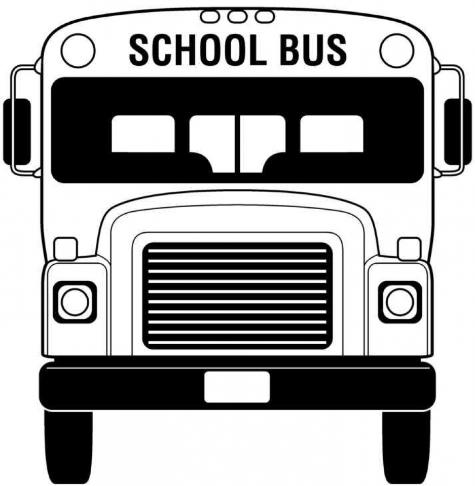 Get This School Bus Coloring Pages Free Printable fyo104 !