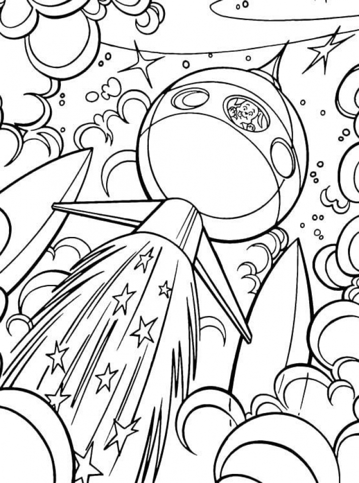 Get This Space Coloring Pages Free Printable jcaj18 !