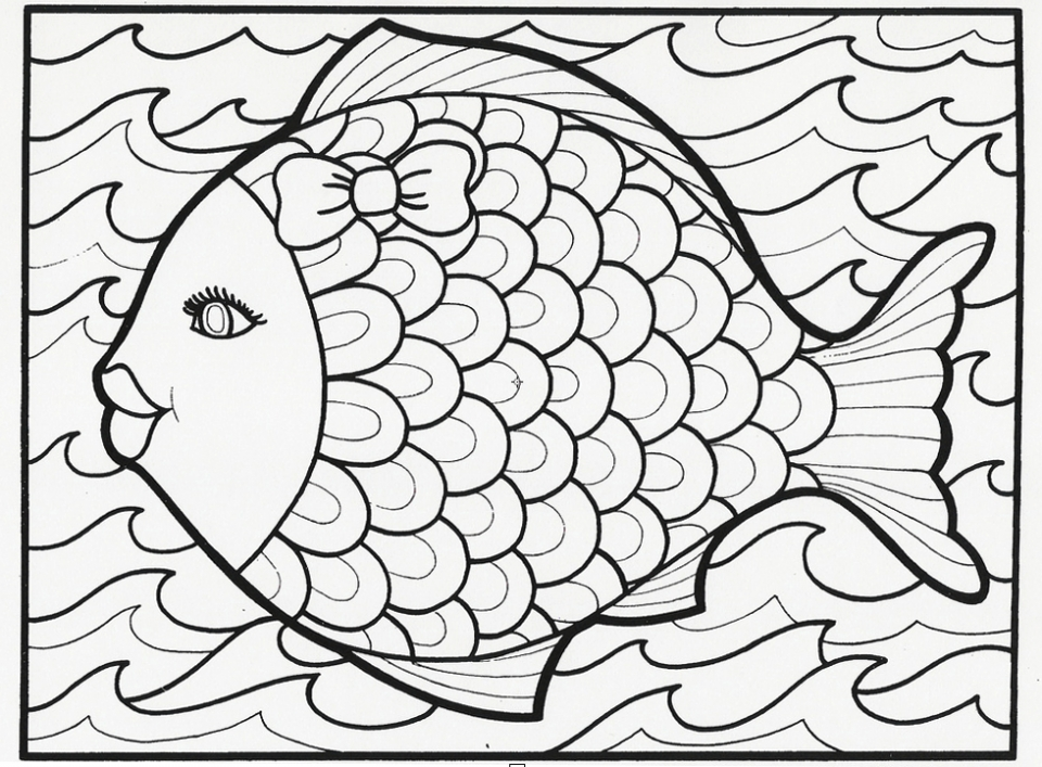 Get This Summer Coloring Pages Free Printable 772664