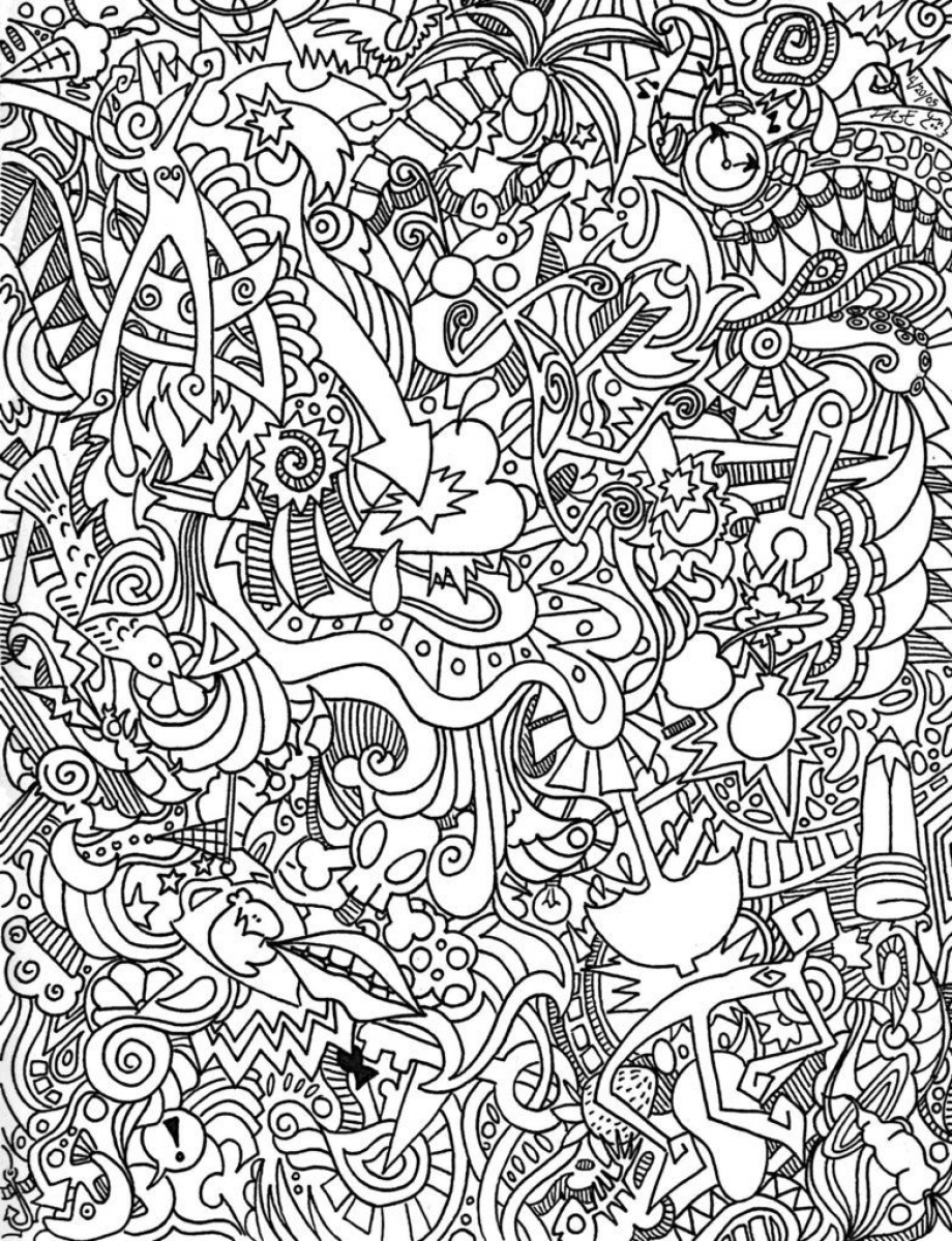 20+ Free Printable Trippy Coloring Pages for Adults ...