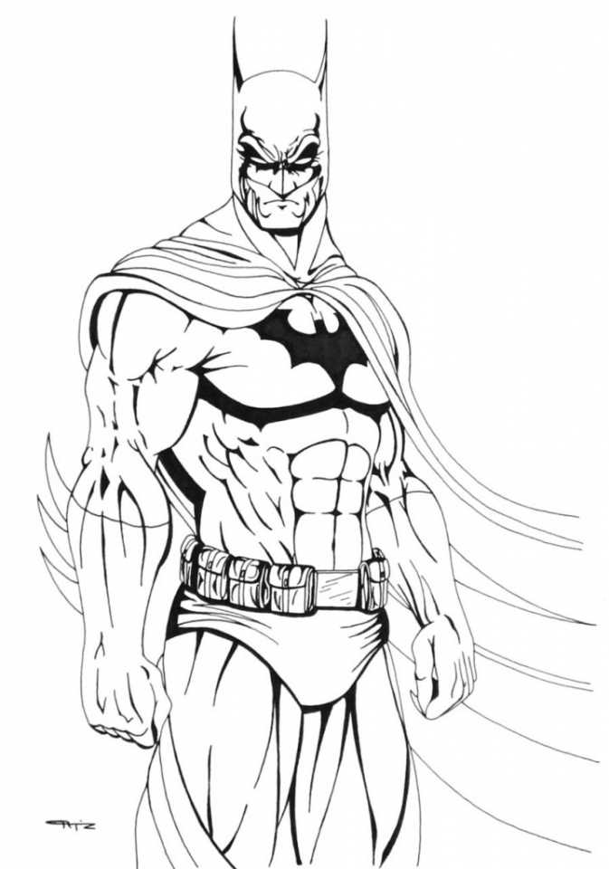 Get This Batman Coloring Pages for Kids 618WA