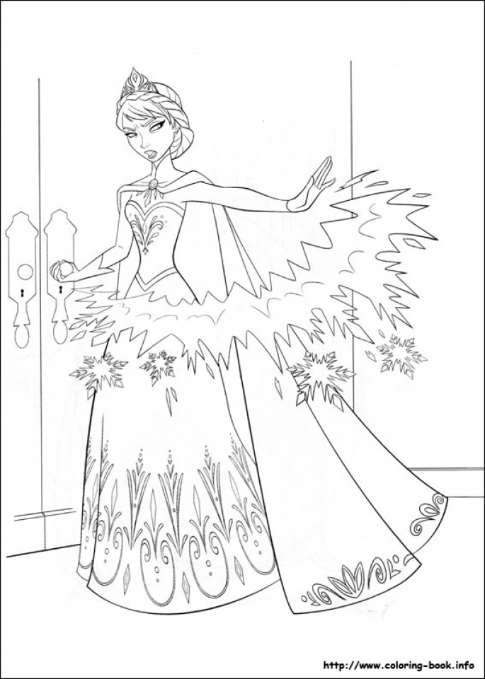 free printable queen elsa coloring pages disney frozen avct0 - Elsa Coloring Pages Printable