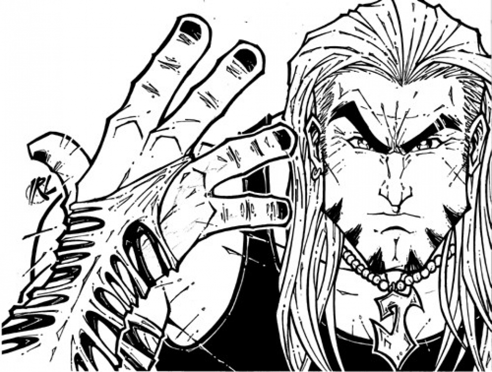 Jeff Hardy Coloring Pages Printable 4CAT9
