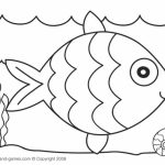 20 Free Printable Rainbow Fish Coloring Pages