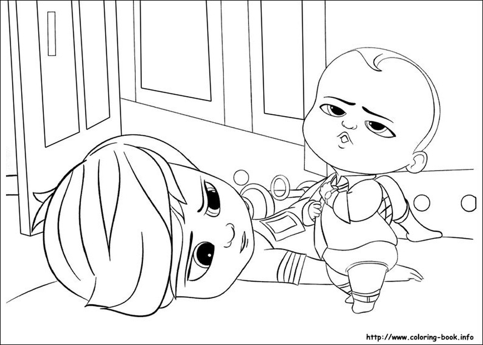 Boss Baby Free Printable Coloring Pages 47981
