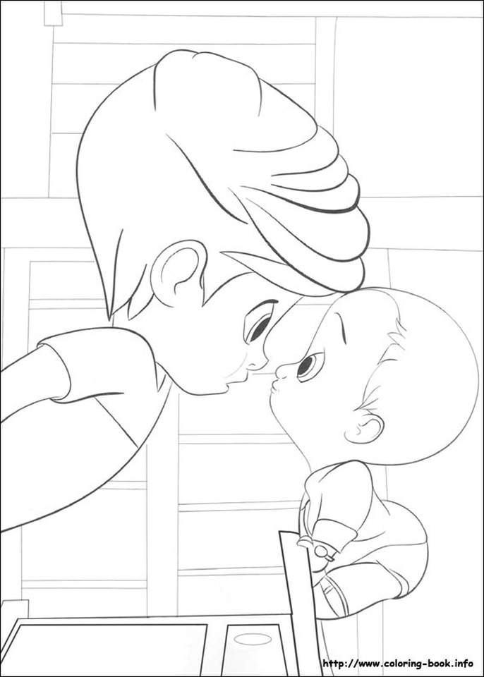 Get This Boss Baby Free Printable Coloring Pages