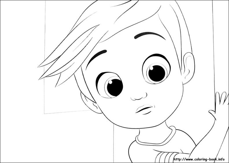 Top The Boss Baby Coloring Pages The Boss Baby Coloring7