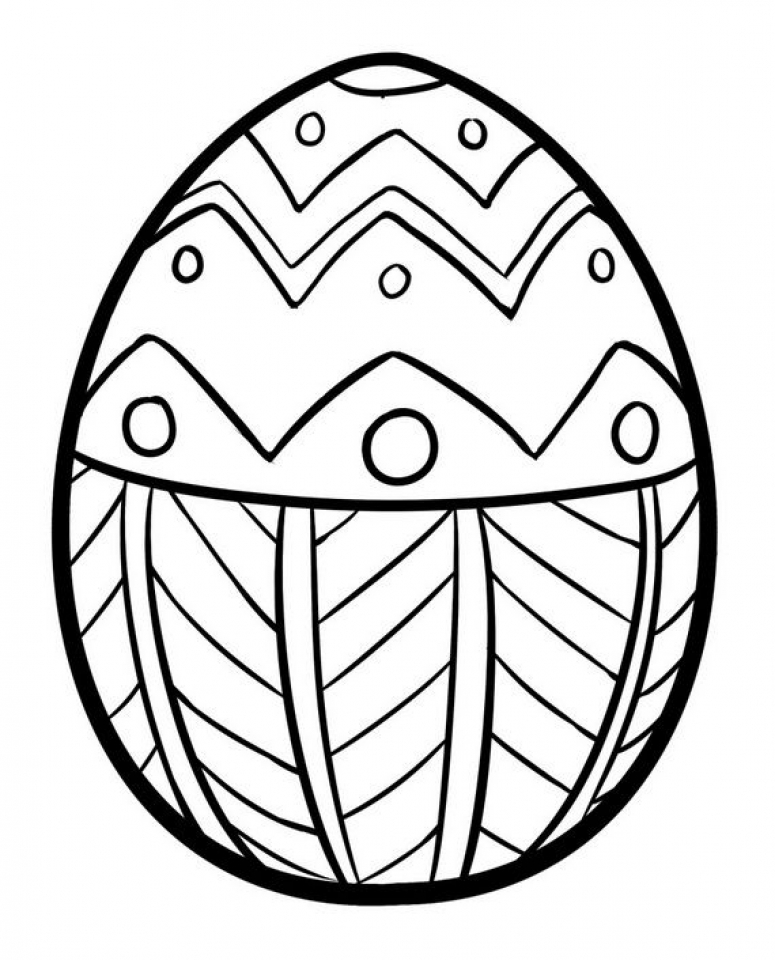 Get This Adults Printable Easter Egg Coloring Pages 56472