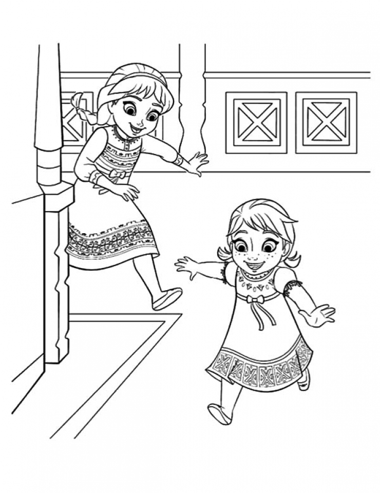 Get This Disney Frozen Princess Anna Coloring Pages Free To Print