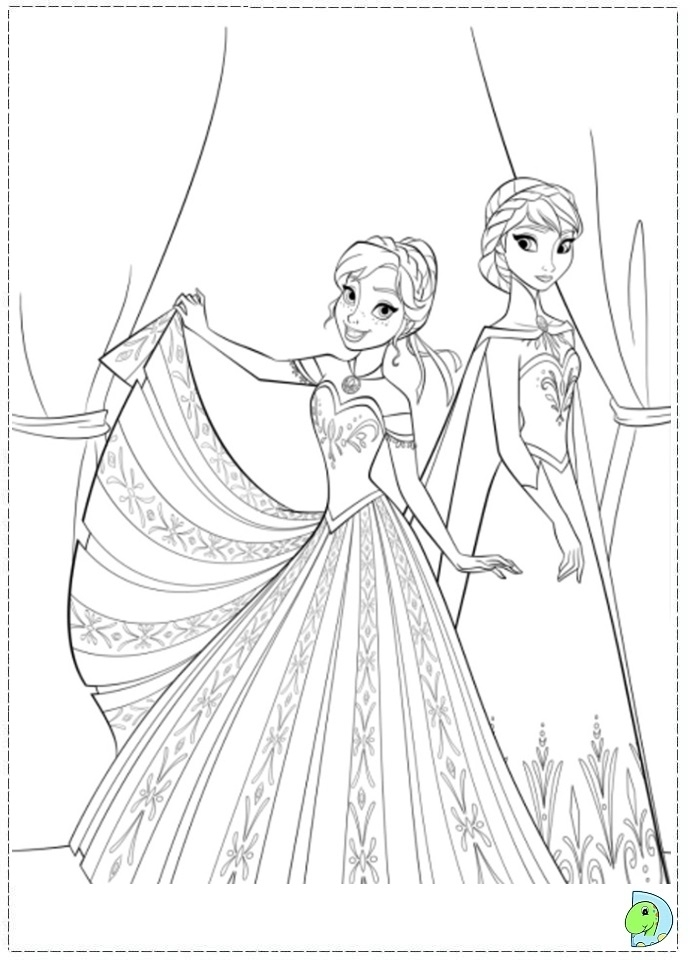 Princess Coloring Pages Frozen Anna : Get this disney frozen princess anna coloring pages free