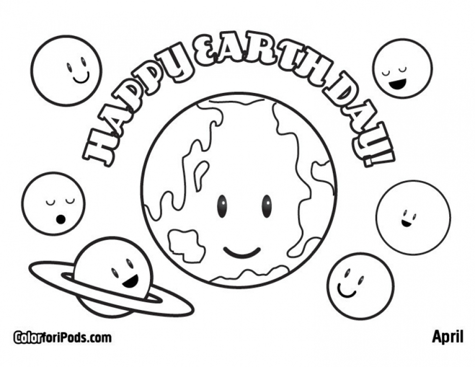 Earth Day Coloring Pages Free To Print 11736