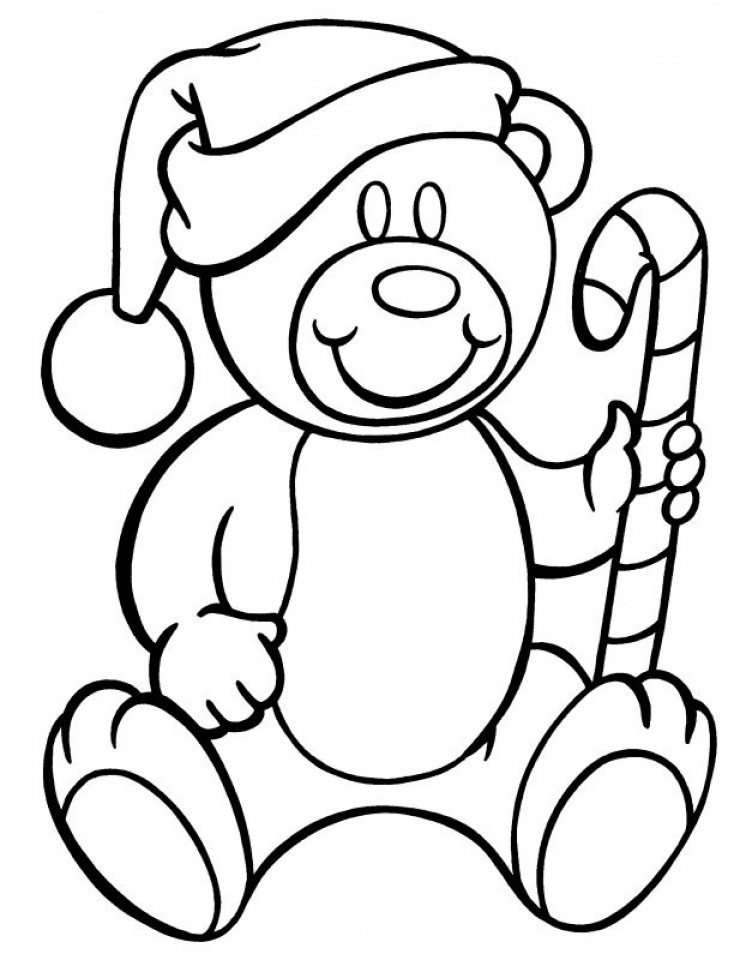 free candy cane coloring page for toddlers 54499 - Candy Cane Coloring Page