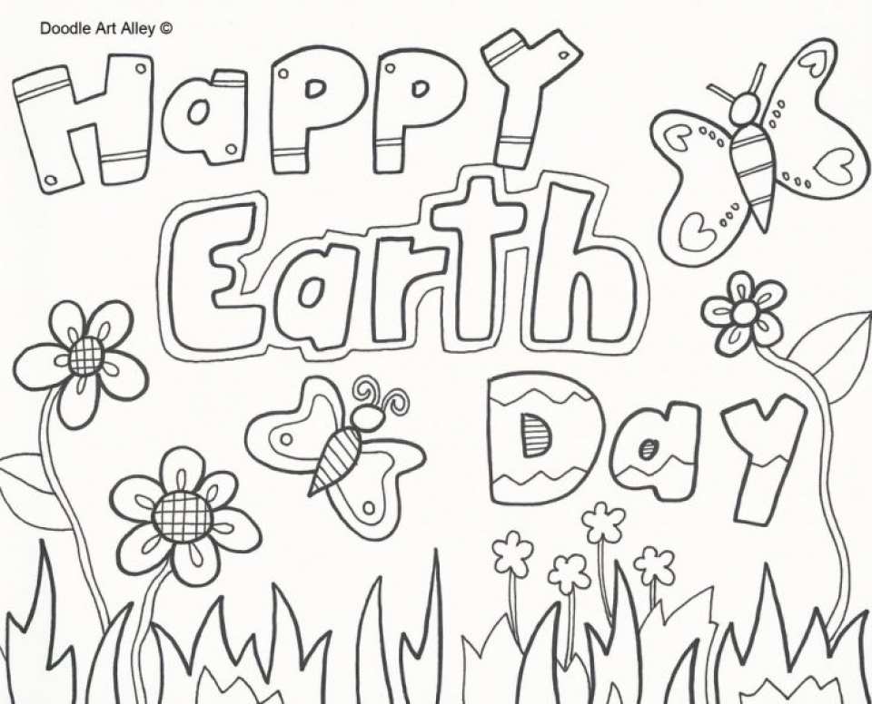 Get This Free Earth Day Coloring Pages for Kids 83712 !