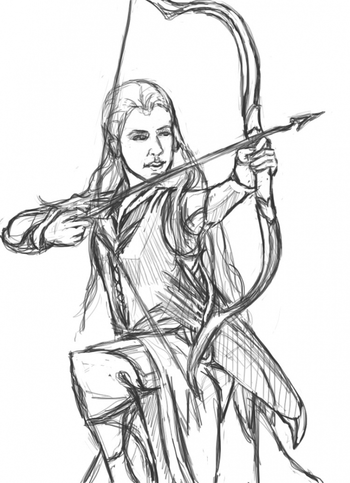 Get This Free Printable The Hobbit Coloring Pages 67381 !