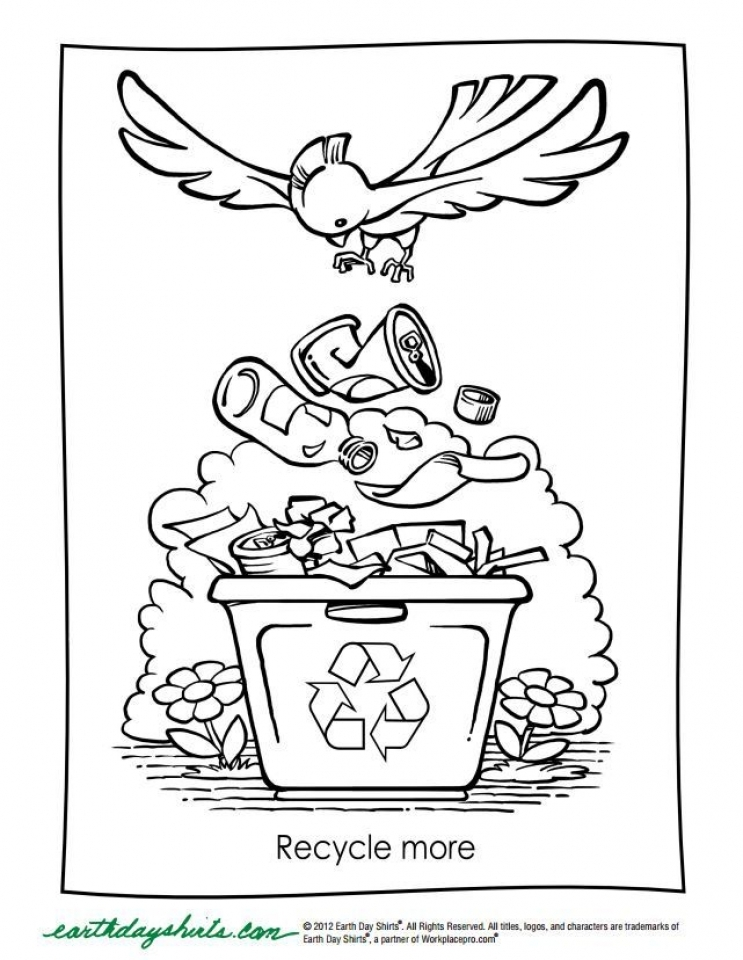 Elegant Kids Printable Earth Day Coloring Pages Free With