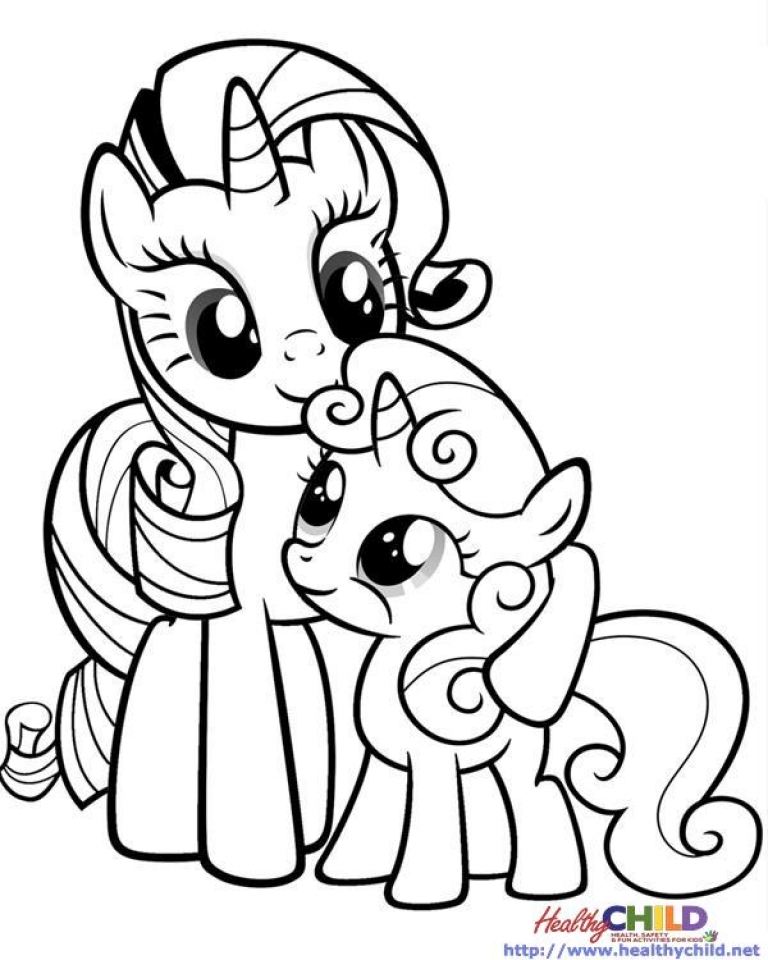 Get this my little pony friendship is magic coloring pages for Pony coloring pages online