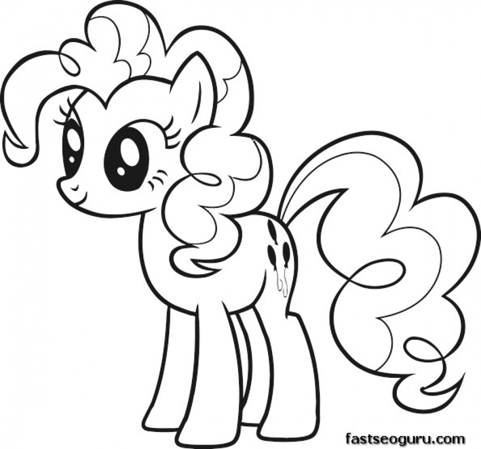 Free coloring pages new years - Picture Of My Little Pony Friendship Is Magic Coloring Pages Free For Children 32937