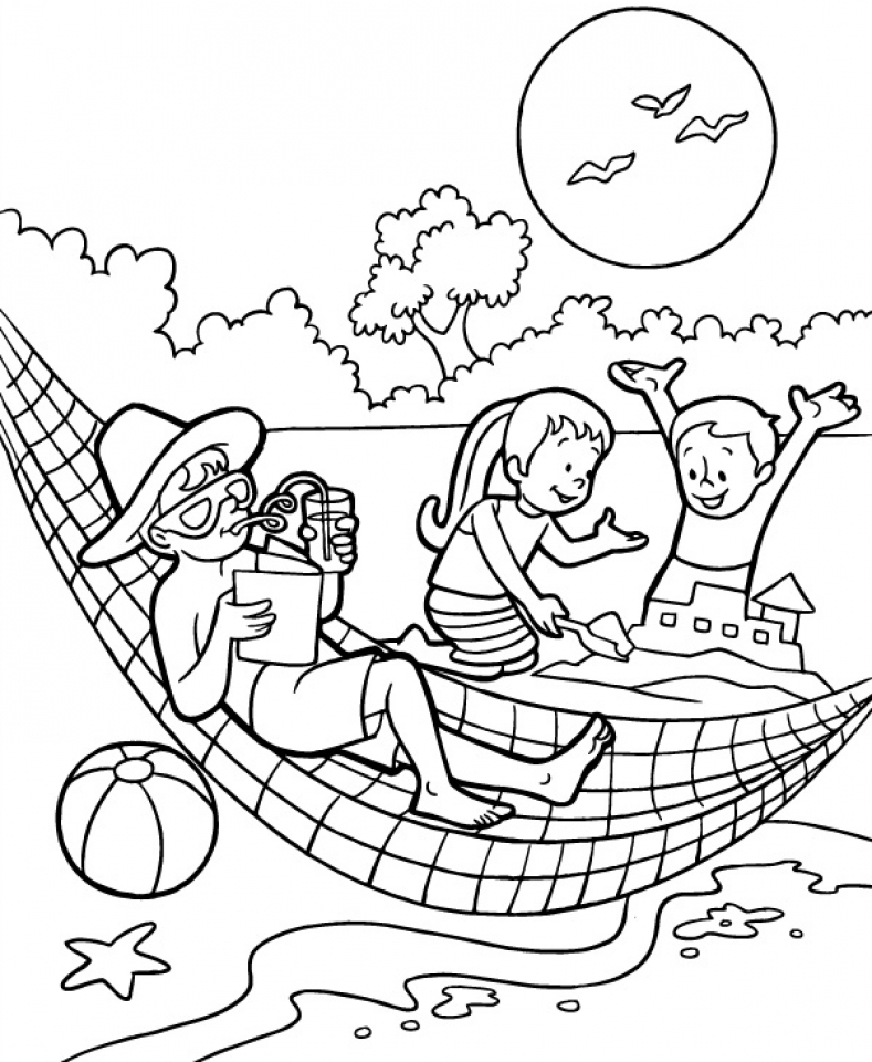 Get this printable summer coloring pages for 5th grade 27184 for Free printable coloring pages summer