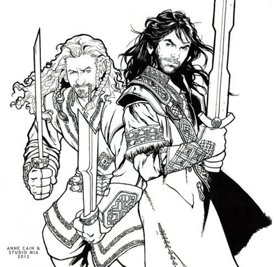 Get This The Hobbit Coloring Pages Free to Print 6739 !