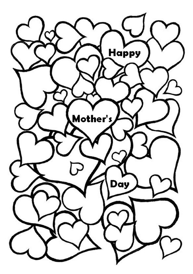 free mothers day coloring pages for adults to print out 77389