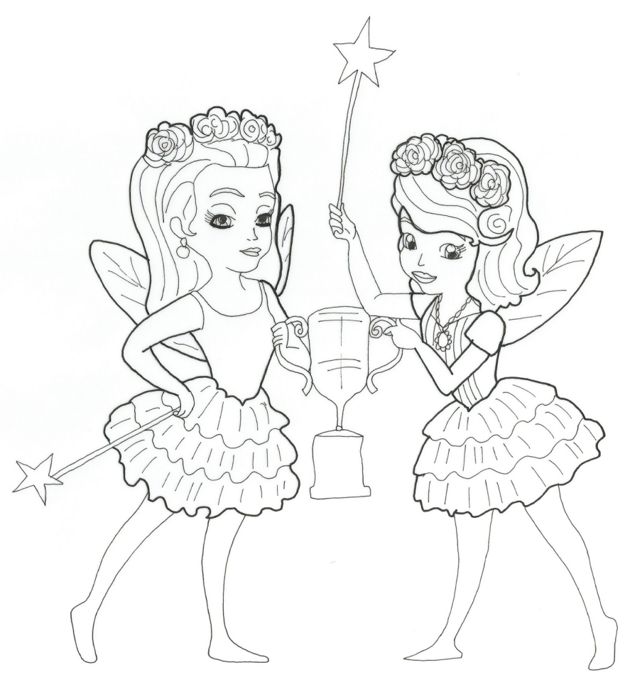 get this princess sofia the first coloring pages to print out for