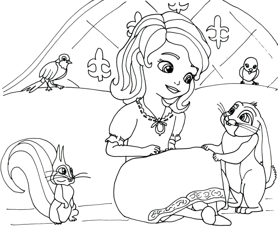 Get This Princess Sofia the First Coloring Pages to Print ...