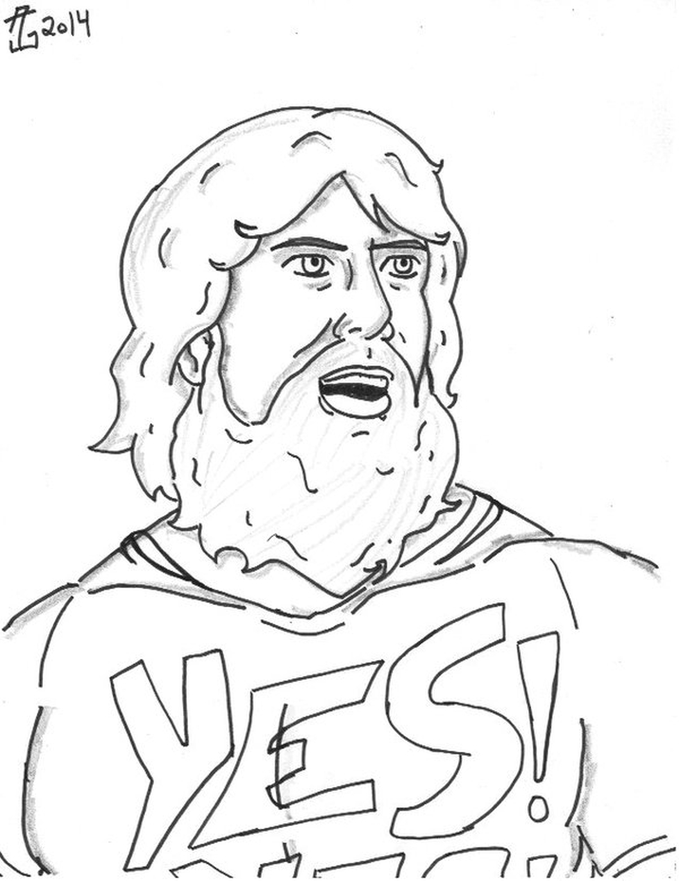 Printable Wwe Coloring Pages Daniel Bryan 32901